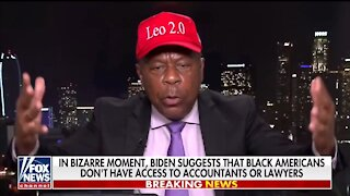 Leo Terrell: Somebody Needs To Tell Biden He's A Racist