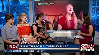 """""""Up with People"""" touring Tulsa"""