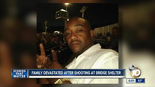Family devastated after shooting at bridge shelter
