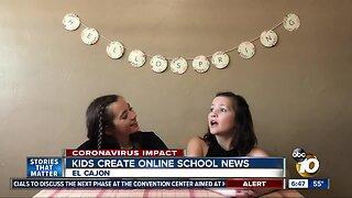 Kids create East County Kids News during quarantine