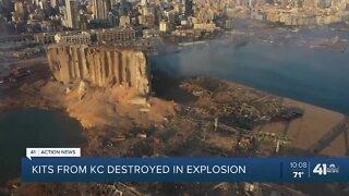 Beirut explosion destroys Heart to Heart International shipment