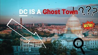 DC IS A Ghost Town Says Citizen Journalist w/David Nino Rodriguez! (7/24/2021)