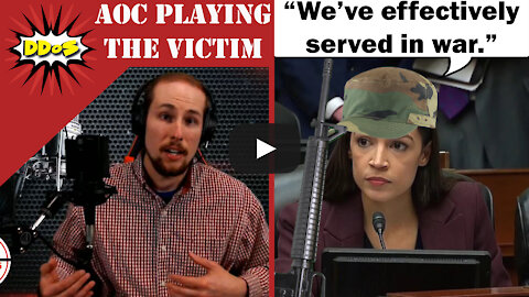 """DDoS- AOC Claims She """"Effectively Served In War"""" During the Capitol Riots"""