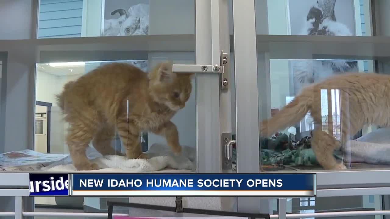 New Idaho Humane Society facility opens
