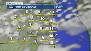 Warm weather trend continues into Thursday