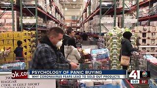 Mental health expert explains psychology behind coronavirus fear