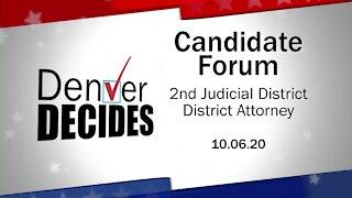 Denver Decides forum: 2nd Judicial District Attorney Candidates