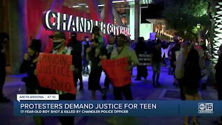 Protesters demand for justice for Anthony Cano