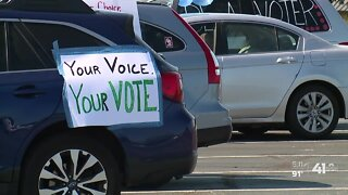 'Souls to the Polls' organizes car caravan for voters