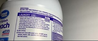 Health officials warn against consuming disinfectant