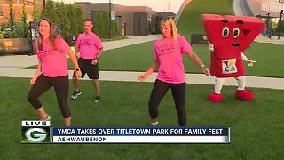 Family Fest before Packers Family Night
