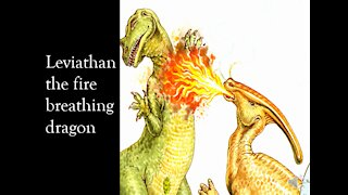 Leviathan the fire breathing dragon