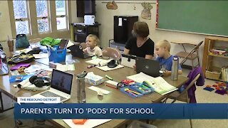 Some parents are embracing pod learning for their kids – here's what it is