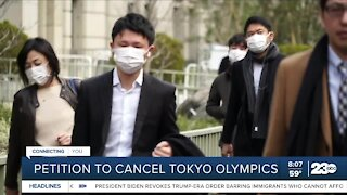 Petition to cancel Tokyo Olympics