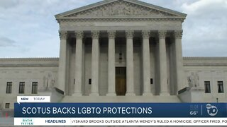 SCOTUS backs LGBTQ protections