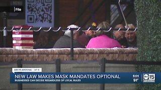 Arizona businesses no longer have to enforce city mask mandates