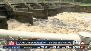 Water levels in Lake Okeechobee are rising