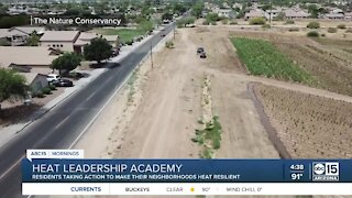 Heat Leadership Academy to teach residents how to take heat mitigation into their own hands