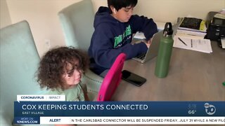 Cox Communications helping students stay connected