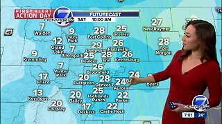 First Alert Action Day: Snow falling in Denver