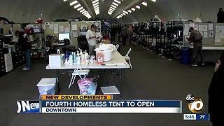Fourth San Diego homeless bridge shelter to open