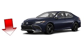 2021 Toyota Camry XSE Automatic Transmission All Wheel Drive (Natl), Blueprint