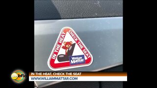 In the heat check the seat campaign