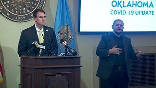 Gov. Stitt provides update on State's response to COVID-19