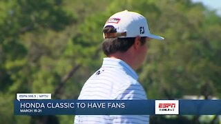 Honda Classic to allow some fans in 2021