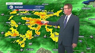 More rain tonight