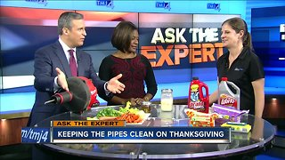 Ask the Expert: Keeping the pipes clean on Thanksgiving