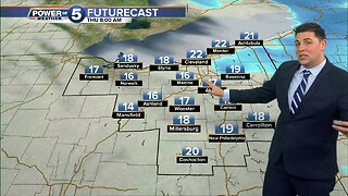 Winter storm to bring snow Wednesday evening