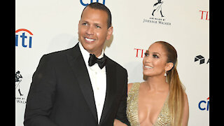 They haven't split? Jennifer Lopez and Alex Rodriguez are 'working through' things