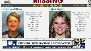 Parents on the run after children go missing