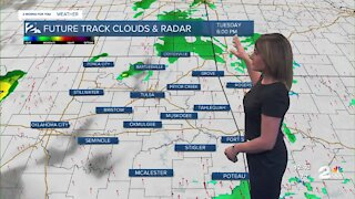 Isolated Showers/Storms this Afternoon