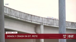 Deadly crash in St. Pete