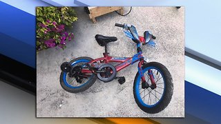 Lake Worth Beach thrift store owner searching for owner of child's Spider-Man bike