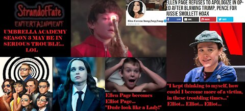 Ellen Page becomes a transgender man, Elliot, Vanya, Umbrella Academy Season 3 in trouble?