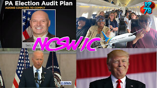 NCSWIC - Joe Panics, PA Visit, More Georgia Fraud Evidence Revealed