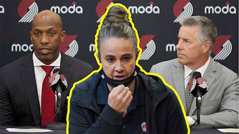 Becky Hammon implies the Trail Blazers NEVER wanted to hire her and ALWAYS wanted Chauncey Billups!