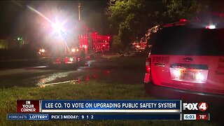 Lee County prepares to upgrade radios for first responders