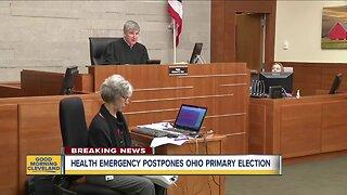 Health emergency postpones Ohio primary election