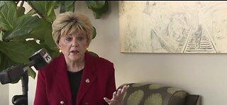 Mayor Goodman talks about reopening