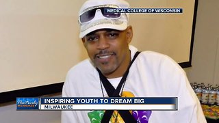 Milwaukee man given new heart in transplant helps young people realize their dreams