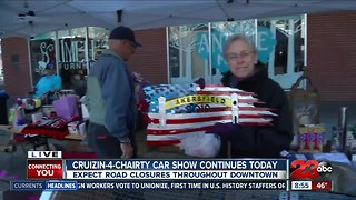 Crusin' 4 Charity car show helping local charities