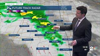 Thursday 10pm Weathercast