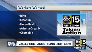 Several places looking for workers in the Valley