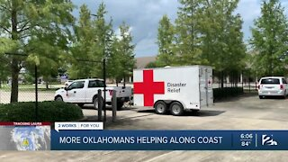 More Oklahomans Helping Along Gulf Coast