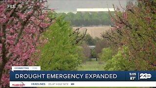 Newsom expands drought emergency
