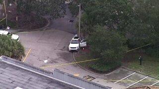 Woman shot, killed at Venice Bank